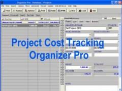 Project Cost Tracking Organizer Pro 3.2b Screenshot