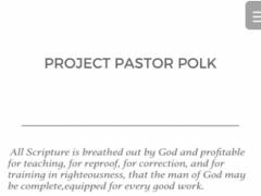 Project Pastor Polk 7.1.2.0 Screenshot