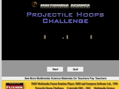 Projectile Hoops Challenge 3 Screenshot
