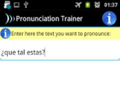 Pronunciation Trainer 0.1.6 Screenshot