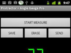 Protractor + Angle Gauge Free 1.20 Screenshot