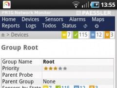 PRTGdroid 1.1 Screenshot