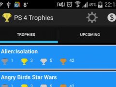 PS 4 Trophies 1.0.6 Screenshot