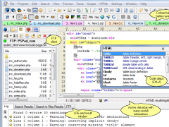 PSPad editor 4.6.1.2730 Screenshot