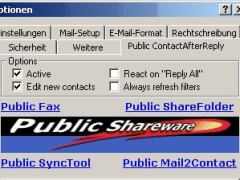Public Contact After Reply for Outlook 1.2 Screenshot
