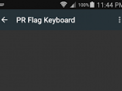 Puerto Rican Flag Keyboard 1.13 Screenshot