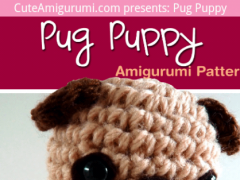 Daisy's Designs: Mini Pug Crochet Pattern | 180x240