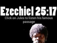 Pulp Fiction Ezekiel 25:17 1.0 Screenshot