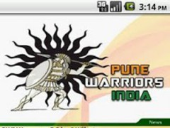 Pune Warriors India 1.0 Screenshot