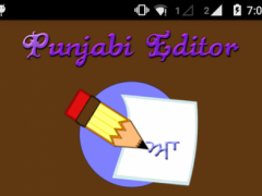 Punjabi Editor 1.2 Screenshot