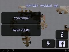 Puppies Puzzle HD 7.03.168 Screenshot