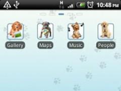 Puppy Go Launcher EX Theme 1 Screenshot