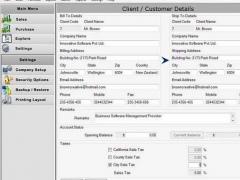 Purchase Order Templates 2.0.1.5 Screenshot
