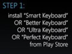 Pure Froyo Keyboard THEME 1.0 Screenshot