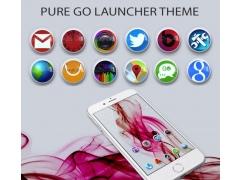 Pure Go Launcher Theme Tapjoy 1.01 Screenshot