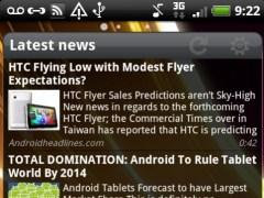 Pure news widget (scrollable) 1.5.1 Screenshot