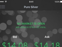 PureSilver - Silver Prices, Charts, and News 0.3.5 Screenshot