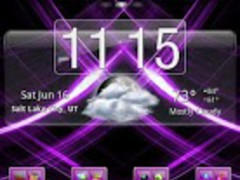 Purple Gloss Theme 2.9 Screenshot