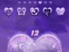 Purple Haze Clock Widgets 2.0 Screenshot