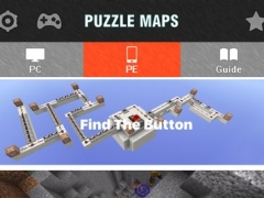 Puzzle Maps for Minecraft PE - Game Map Database 1.0 Screenshot