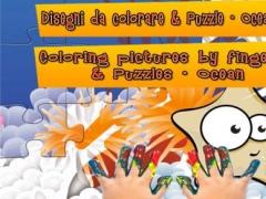 Puzzle & Paintings - Ocean (for kids!) 2.0 Screenshot
