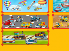 Puzzles for kids: vehicles 88.49.1 Screenshot