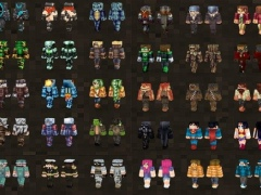 PVP Skin Pack For MCPE Free Download - Skins fur minecraft pvp