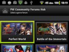 PW Community Forums Hub 1.1.1 Screenshot
