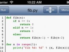 Python 3.0 for iOS 1.5.4 Screenshot