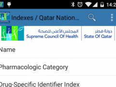 Qatar National Formulary 2.8.0 Screenshot