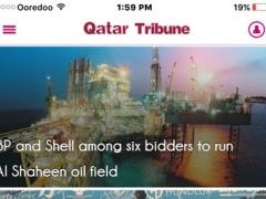 Qatar Tribune for iPhone 4.0.1 Screenshot