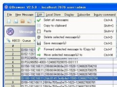 QBrowser for GlassFish JMS / WebLogic MQ  Screenshot