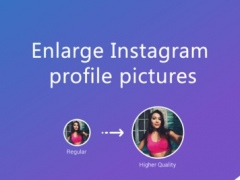 Qeek - Enlarge profile pictures for Instagram 1.1 Screenshot
