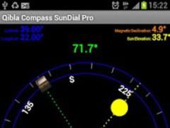 Qibla Compass Sundial Lite 3.2 Screenshot