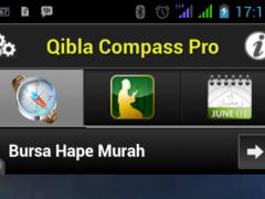 QIBLAT COMPASS PRO 1.1 Screenshot