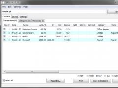 QIF2CSV 3.0.0.2 Screenshot