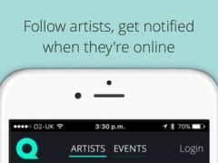 QJAM – meet your favorite artists 1.2.8 Screenshot