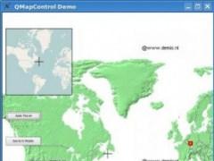 QMapControl 0.9.5.2 Screenshot