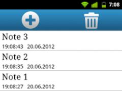 Qnote - simple notepad 1.5 Screenshot