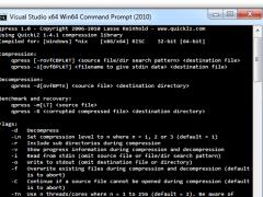 qpress 0.37 Screenshot