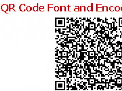QR Code Font and Encoder Suite 19 02 Free Download