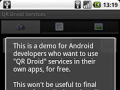 QR Droid Services™ 1.0 Screenshot