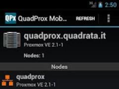 QuadProx Mobile 2.1 Screenshot