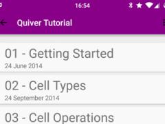Quaver: A Programmer's Notepad  Screenshot