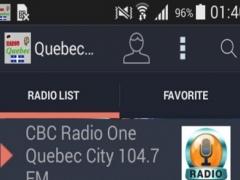 Quebec Radio Stations 2 Screenshot
