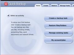 Quick Backup 4.0 Screenshot