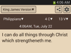 Quick Bible (Lockscreen,POPUP) 1.3.6 Screenshot