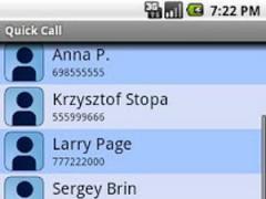 Quick Call Widget 1.0.2 Screenshot
