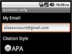 Quick Cite 1.1 Screenshot