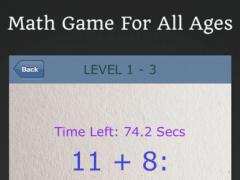 Quick Math: Mathematics Time 2.1.0 Screenshot